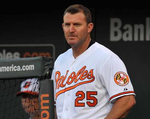 Orioles activaron a Jim Thome y a Troy Patton