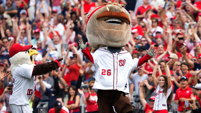Teddy finally wins Presidents Race as Nationals clinch top seed…