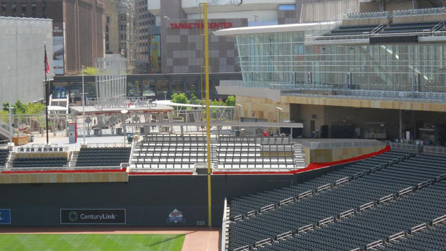 Twins to revamp bleachers, add drink rail seats