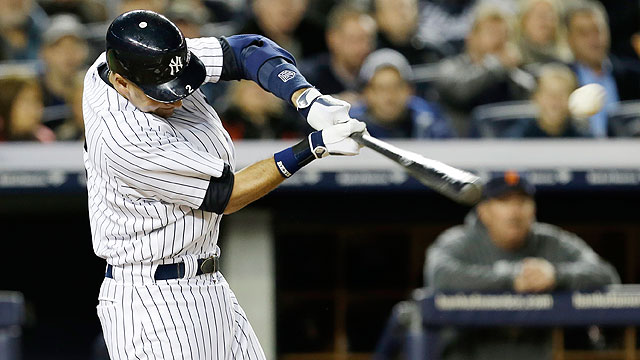 Jeter first big leaguer to notch 200 postseason hits