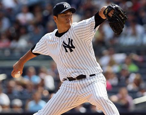 Kuroda abrirá el Juego 2 por los Yankees