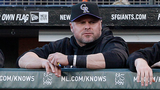 Giambi interviews with Rox about managerial job