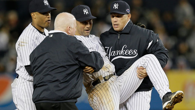 Jeter has fractured ankle surgically repaired Saturday