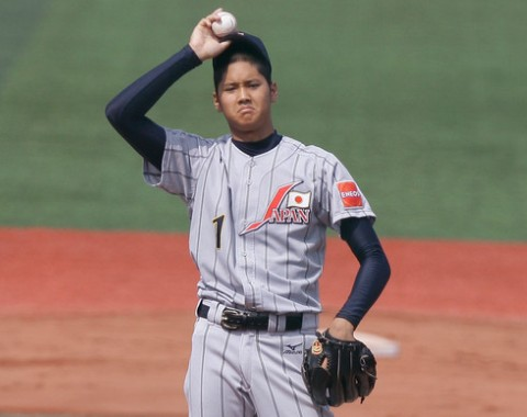 Pitcher Shohei Otani interesa a Rangers