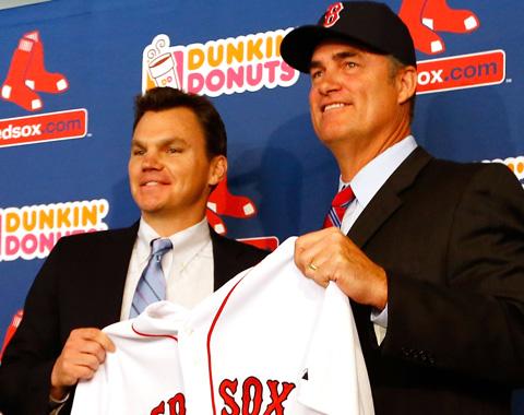 Boston presenta a Farrell como nuevo piloto