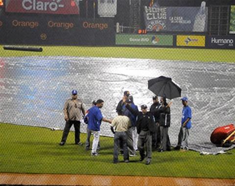 R.D.: Suspendida la jornada debido a lluvias