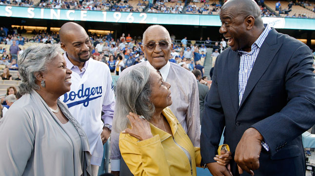 Robinson's daughter to join Dodgers' board