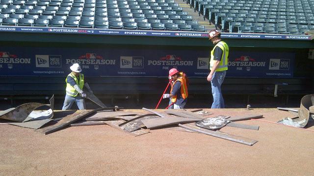 Rangers resume fan-focused park renovations