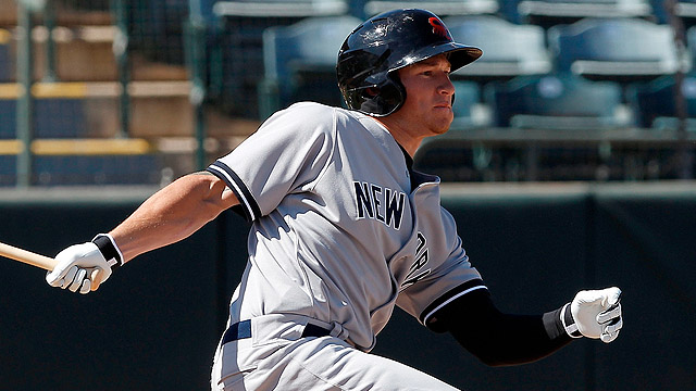 Yankees' Heathcott working on regaining form