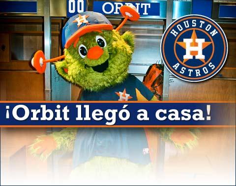 Mascota de los Astros de Houston