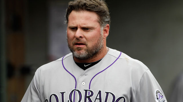 Giambi, Weiss meet again with Rockies officials