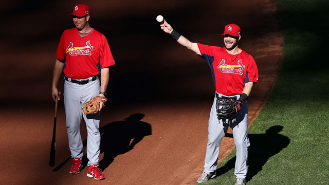 Cardinals promote Mabry to replace McGwire