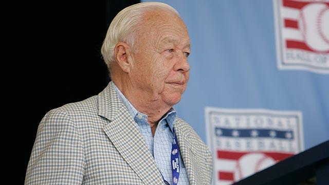 Former AL president Lee MacPhail dies at 95