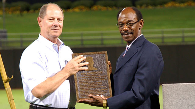 Washington 'humbled' by AFL Hall of Fame honor