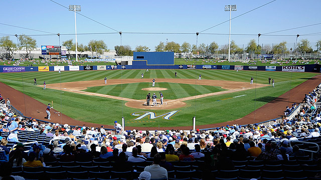 Brewers release 35-game Spring Training slate