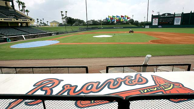 Braves set for four night games in Spring Training