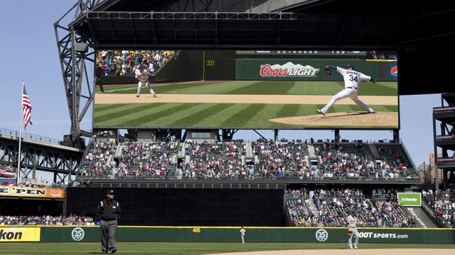 Safeco to be home of MLB's largest video screen