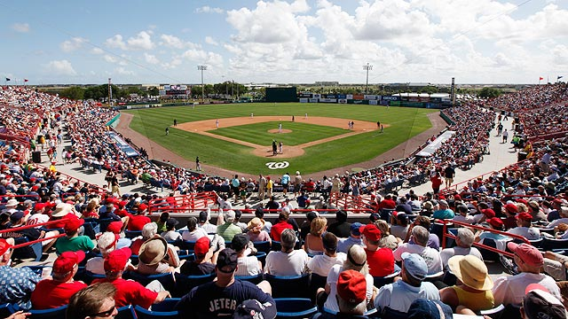 Nationals unveil 2013 Spring Training slate
