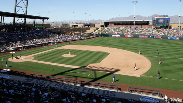 D-backs unveil 2013 Spring Training schedule
