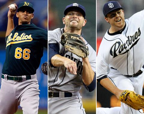 Oakland, S.D., traspasan a cuatro jugadores