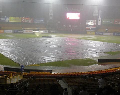 Suspendido por lluvias juego Tigres-Aguilas