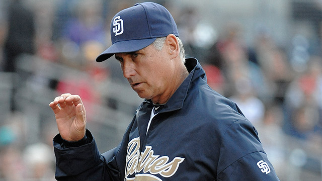 Padres pick up '14, '15 options on manager Black