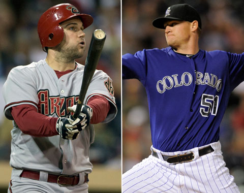 Wheeler de D-backs a Rockies por Reynolds