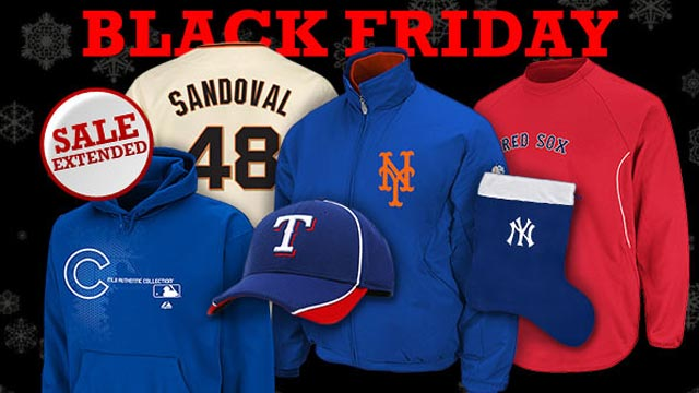 Sale at MLB.com Shop extended through tonight