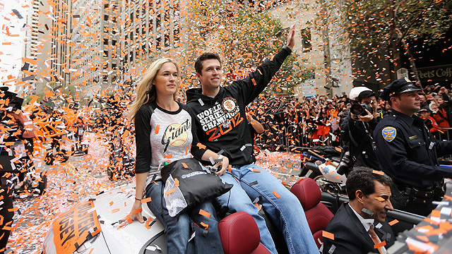 Giants' World Series share an all-time high