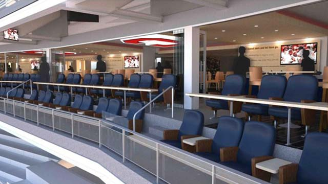 Indians Introduce New Premium Club Seating Mlb Com