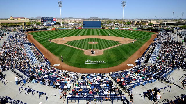 Padres unveil 37-game Spring Training schedule