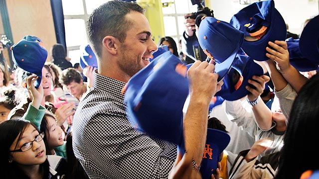 Wright, Mets donating $250K to NYC Mayor's Fund
