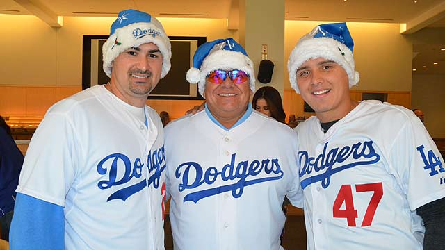 Dodgers host annual Children's Holiday Party