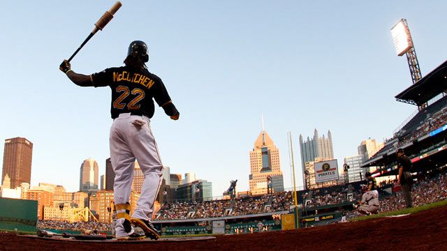 Charitable McCutchen finds inspiration in Clemente