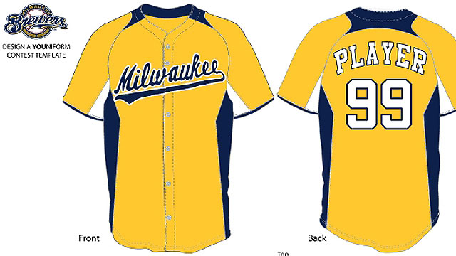 Finalists announced for designing Brewers uniform