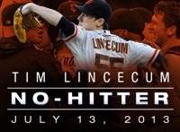 Freak delivery: Get free pizza, thanks to Lincecum no-no