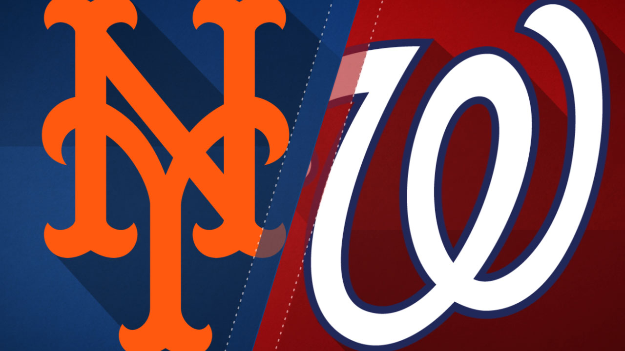 Mets @ Nationals Game Info ...