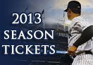 2013 Yankees Season Tickets