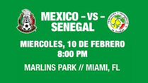 Fútbol: Mexico vs. Senegal