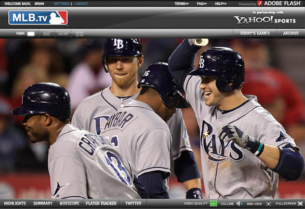 MLBTV Media Player