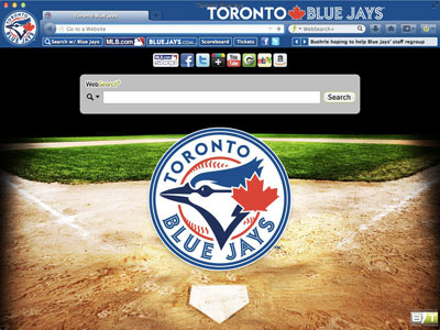 Toronto Blue Jays Browser Theme