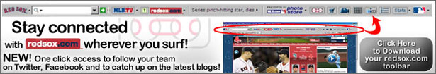 Download the FREE Red Sox Toolbar