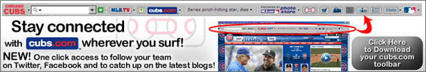 Download the FREE Cubs Toolbar