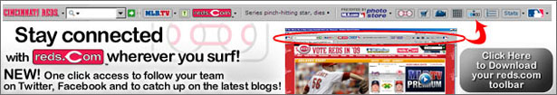 Download the FREE Reds Toolbar