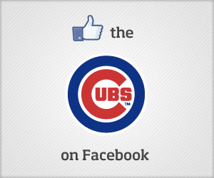 Like the Cubs on Facebook