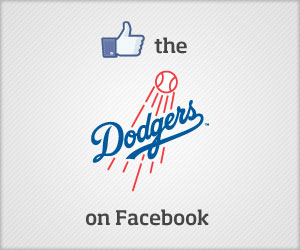 Like the Dodgers on Facebook