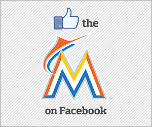 Like the Marlins on Facebook