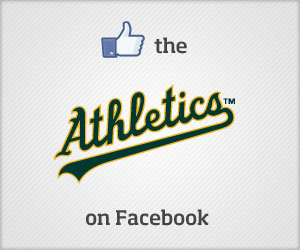 Like the A's on Facebook