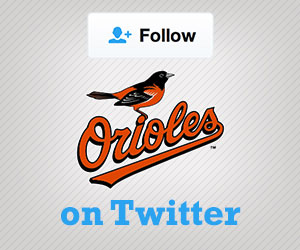 Follow the Orioles on Twitter
