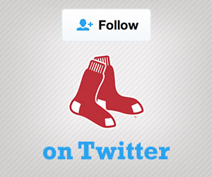 Follow the Red Sox on Twitter